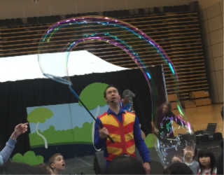 Melbourne Primary School Incursion Bubble Show