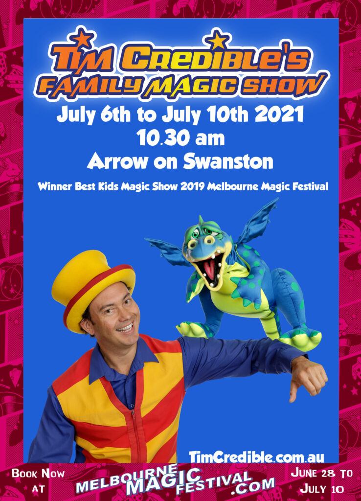 Melbourne School Holiday Activities for Kids. Melbourne Magic Show